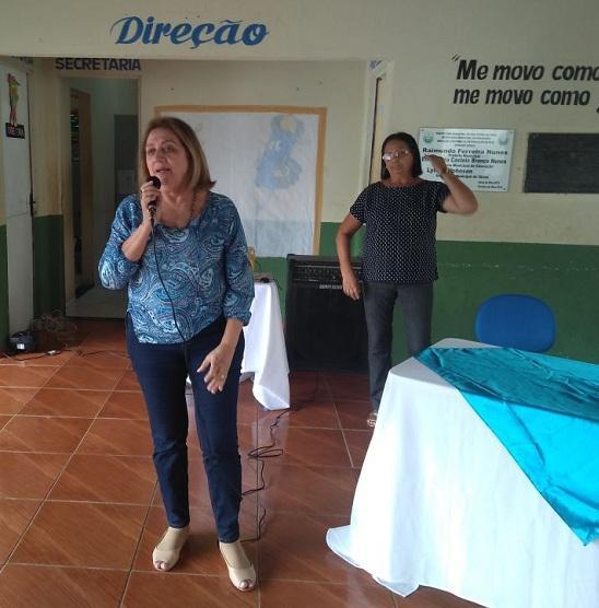 vereadora Drª Fatima Moura     (Crédito: Adriano Sousa)