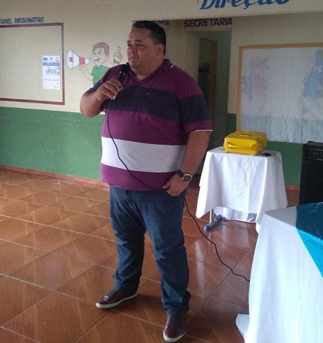 secretário municipal de educação professor Fredson Leal Nunes.    (Crédito: Adriano Sousa)