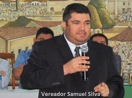 Vereador Samuel Silva recebe os nossos cumprimentos pela idade nova