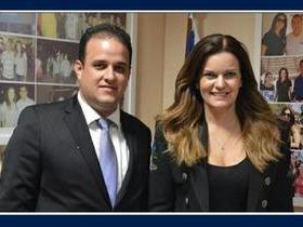 Prefeito Diego Teixeira leva demandas de Amarante para Brasília