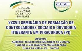 EGC realizará Seminário de Formação de Controladores e Ouvidoria