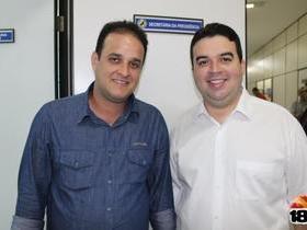 Prefeito Diego Teixeira acompanha lançamento de programa federal