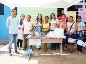 A equipe da Saúde realizou ação de saúde pré-Carnaval
