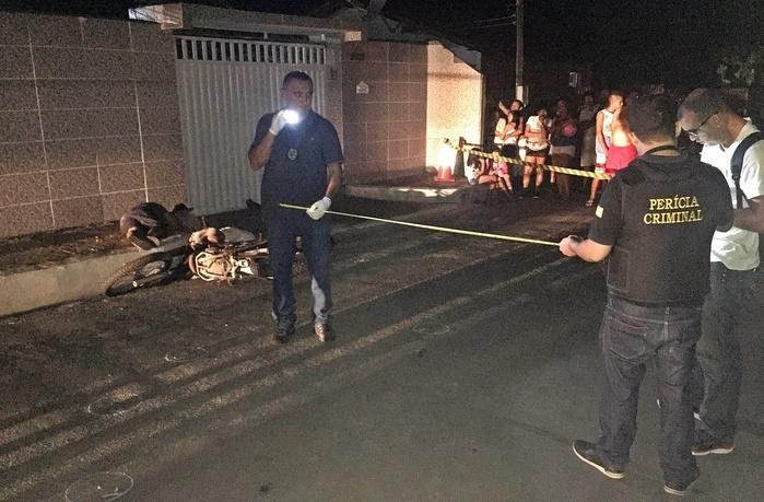 Crime aconteceu no bairro Beira Mar, em Luís Correia. (Crédito: Kairo Amaral)