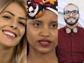 BBB18: Gleice, Jaqueline e Mahmound estão no paredão