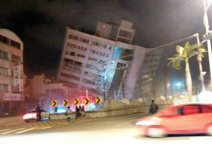 Terremoto de magnitude 6.4 atinge Taiwan e deixa ao menos 2 mortos