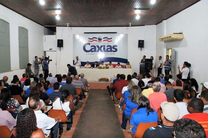 Lançamento oficial do concurso da Prefeitura de Caxias-Ma