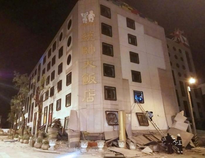 Terremoto atinge Taiwan e deixa mortos e feridos