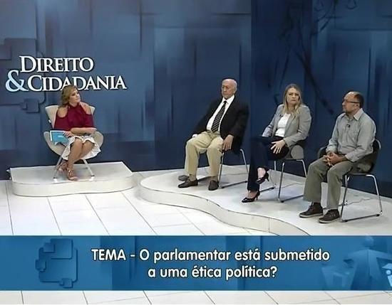 Programa Direito e Cidadania do dia 13/01- Parlamentar e ética