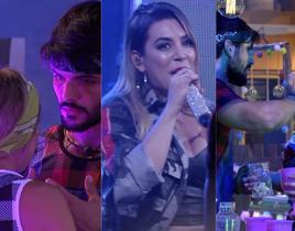 BBB18: Naiara Azevedo faz show na casa e ataca Lucas sobre traição