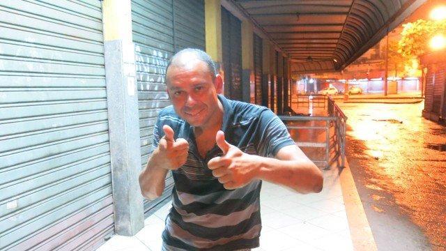 Ex-ídolo do Vasco vira morador de rua