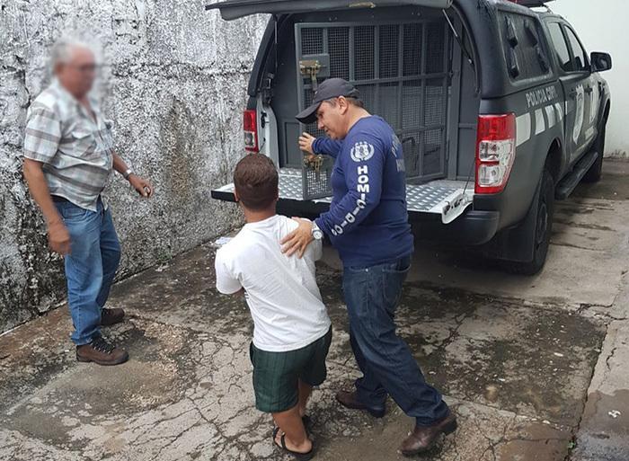 Otto Antônio Francisco de Sales Fernandes foi preso por policiais da Delegacia de Homicídios (Crédito: Divulgação/Polícia Civil)