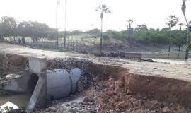 Chuva deixa rastro de destruição na zona rural de Pimenteiras