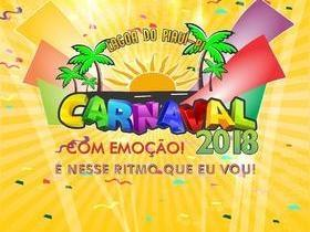 """Carnaval Lagoa do Piauí: """"Com Emoção! É nesse ritmo que eu vou"""""""