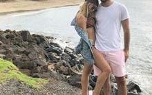 Thiago Magalhães se declara para Anitta em foto no Havaí