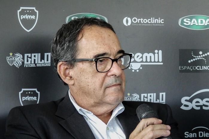 Bebeto de Freitas (Crédito: Atlético Mineiro)