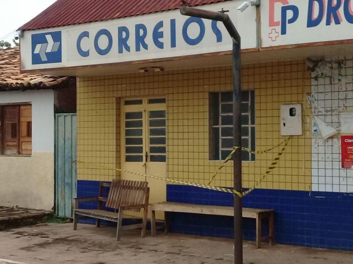 Agência dos Correios em Arraial do Piauí (Crédito: Reprodução/Portal Diário de Notícias)