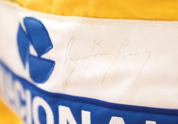 Assinatura de Senna (Crédito: RM Sotherbys)
