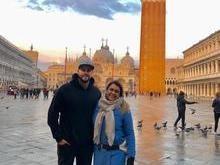 Preta Gil curte férias com o marido na Itália