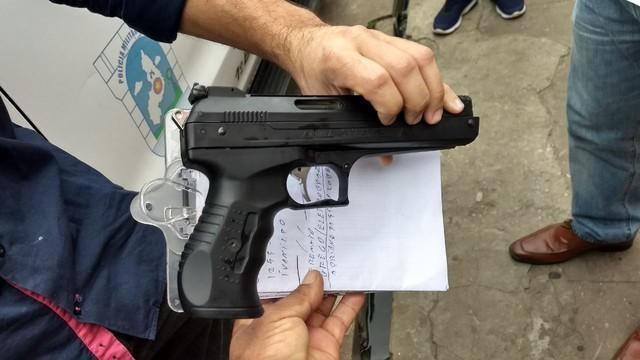 Comerciante ameaça funcionário da Eletrobras com arma na Piçarra