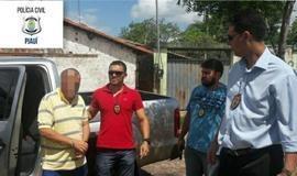PC de Piripiri  prende autor de extorsão que agia em comércios