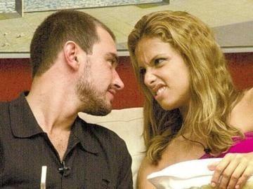 Thyrso e Manuela BBB (Foto: Reprodução)