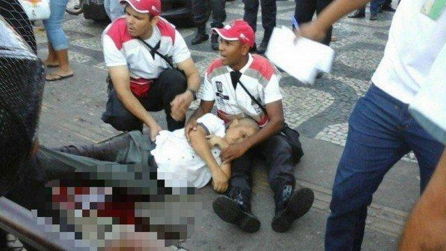 Tiroteio deixa um morto e feridos no Centro do Rio
