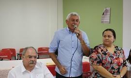 Prefeito Manoel Lázaro participa de café coletivo