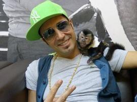 Macaco de Latino morre atropelado por carro dentro de condomínio