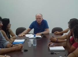 Reunião sobre III Feira da Agricultura Familiar de Demerval Lobão