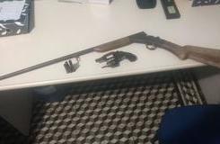 Policiais de Queimada Nova-PI apreendem arma de fogo