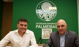 Palmeiras anuncia acordo de três anos com a Puma