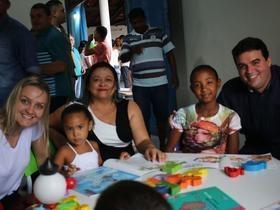 Reginaldo Júnior entrega terceira reforma de escola em 2018