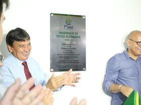 W. Dias inaugura Espaço da Cidadania no Picos Plaza Shopping