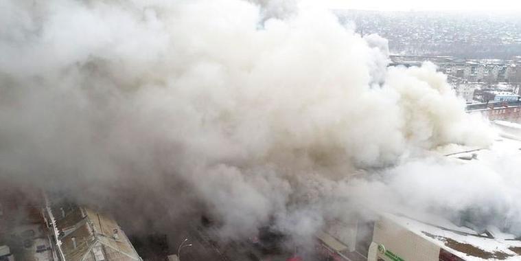 Putin culpa negligência pelo incêndio em shopping que matou 64