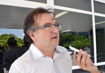 Merlong Solano anuncia nomes dos novos gestores  (Crédito: Cristal Sá )