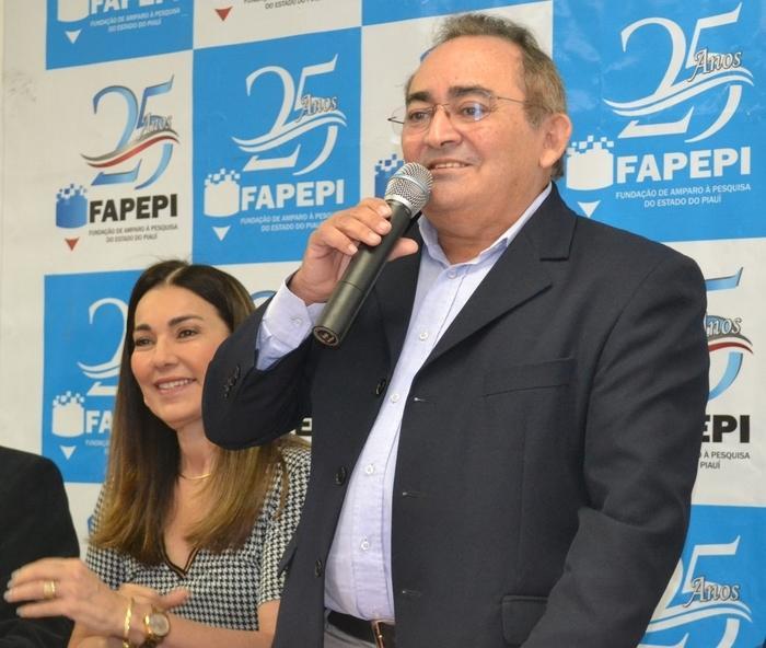 Presidente da Fapepi, Francisco Guedes,