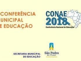 São Pedro do Piauí realizará II Conferência Municipal de Educação