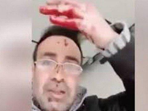 Homem faz transmissão dizendo que acabara de esfaquear a esposa
