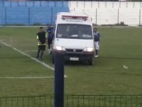 Jogador passa mal em partida de futebol e ambulância quebra no PI