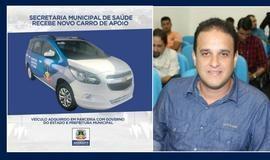 Prefeito Diego adquire novo veículo para Secretaria de Saúde