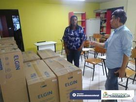 Pólo Uab de Monsenhor Gil recebe novos equipamentos