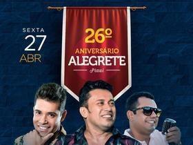 Alegrete faz 26 anos com comemorações e prefeito é homenageado