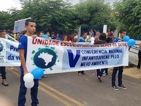 Escola Antonio Alves da Silva  realiza a V Conferência Nacional