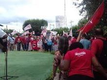 'Caravana Lula livre' em Demerval Lobão; confira