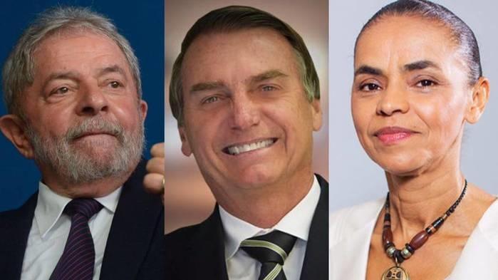 Ex-presidente Lula aparece em primeiro lugar em todos os cenários (Crédito: Reprodução)