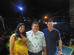 Guilherme Dantas e Caninana animam público no aniversário da cidade