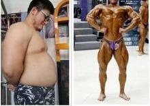 Homem obeso perde 30kg em 6 meses e se torna fisiculturista