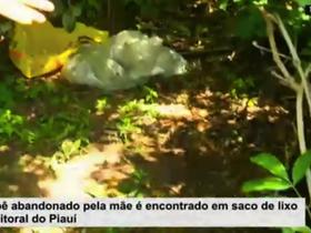 Bebê abandonado pela mãe é encontrado morto em lixão