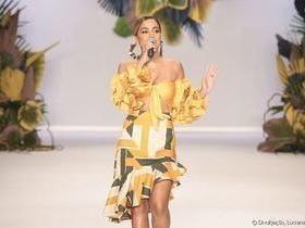 Anitta canta na abertura da SPFW: 'Eu sei o quanto que eu lutei'